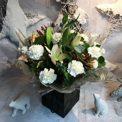 Winter wonderland Hand Tied