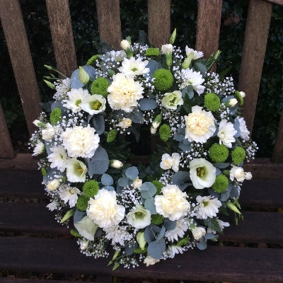 Carnation Loving Floral Wreath