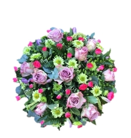 Loving Lilac Rose Posy Pad